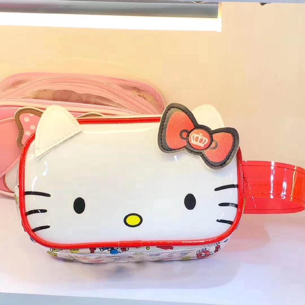 e41c77235a3c Hello Kitty Melody Pompompurin Cinnamorill PVC Wash Bag Cosmetic Bag ...
