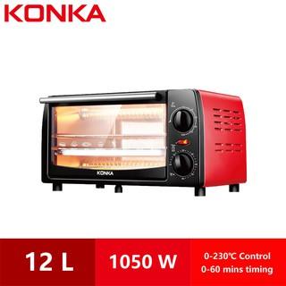 KONKA Ready Stock Fashion Electric Oven Household Multifunctional 12L Mini  KAO-1202E 1050W | Shopee Malaysia