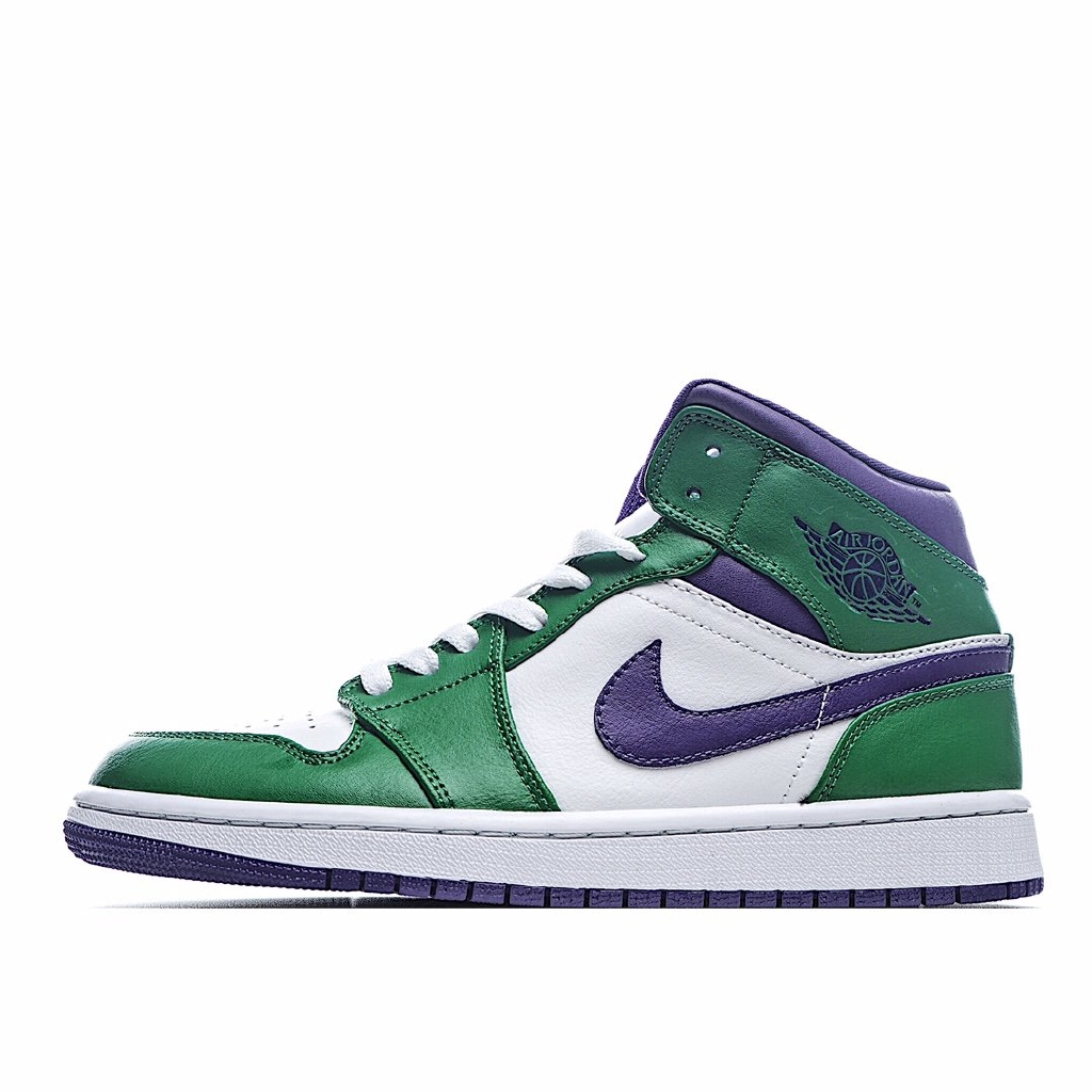 "sección especial gran descuento venta buscar Original Nike Air Jordan 1 Mid ""Hulk"" Sneakers Shoes for Men and ..."