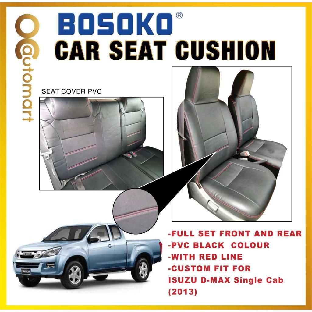 Isuzu D-Max Yr 2013 - (Single Cab) Two Door Custom Fit OEM Car Seat Cushion Cover PVC ( Made in Malaysia )