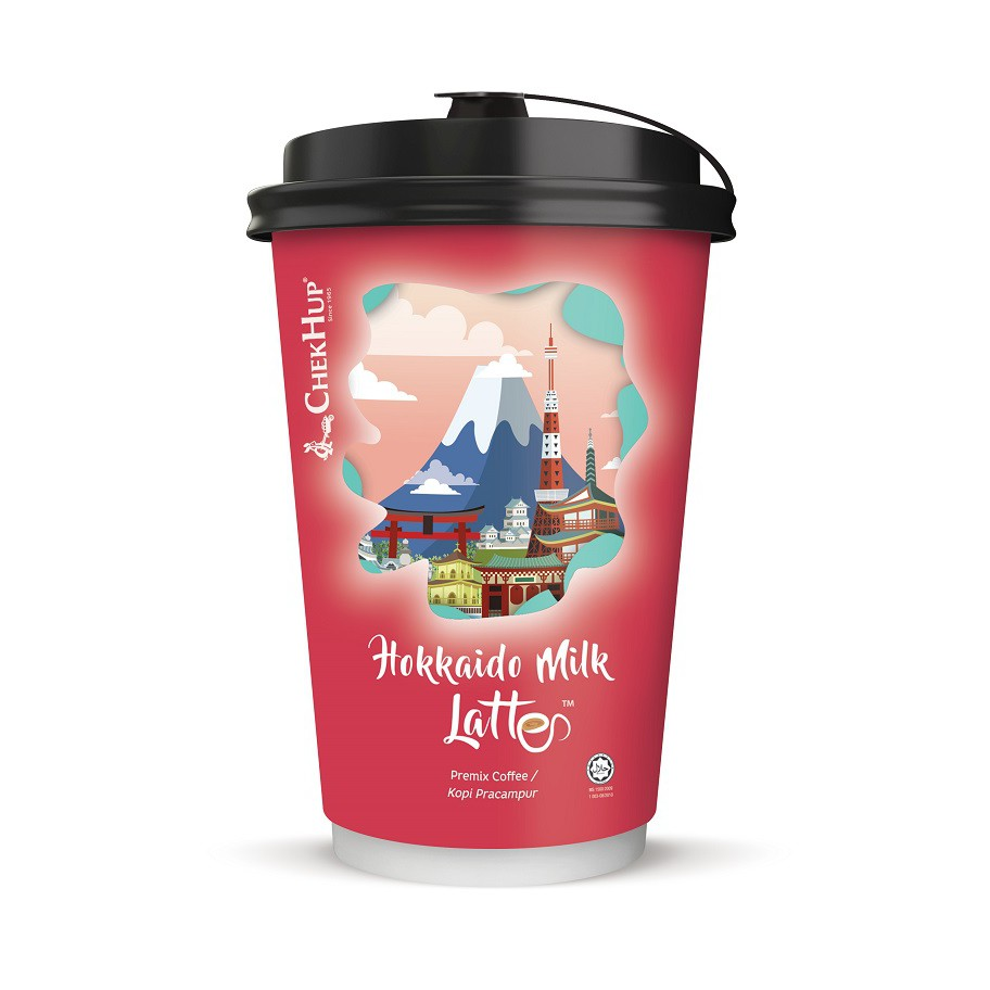 Chek Hup Flavoured Gourmet Latte (28g x 3 Cups) [Combo of 3 Variants]