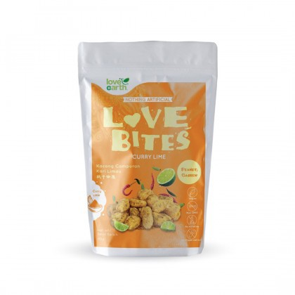 Love Earth Love Bites Curry Lime 浅烤系列 枫叶咖喱 40g