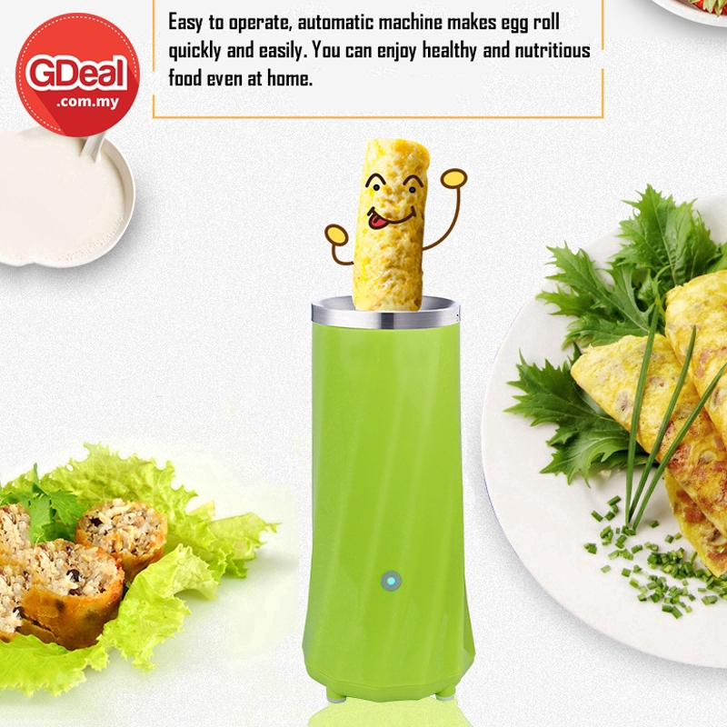 GDeal Automatic Multifunctional Eggs Pancake Roll Machine Omelette Household Egg Cooker For Breakfast Cooking Tools