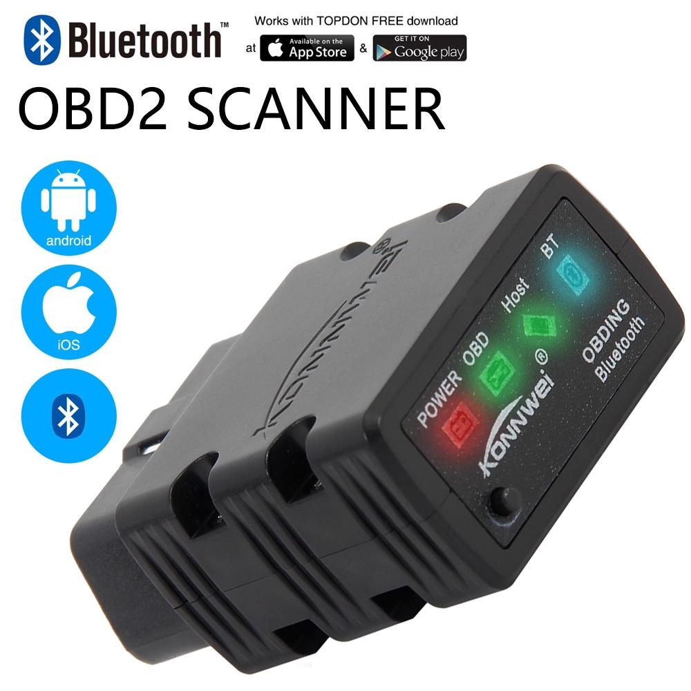WF NEW ELM327 OBD ADVANCED ELM Bluetooth OBD2 Scanner CAR Diagnostic