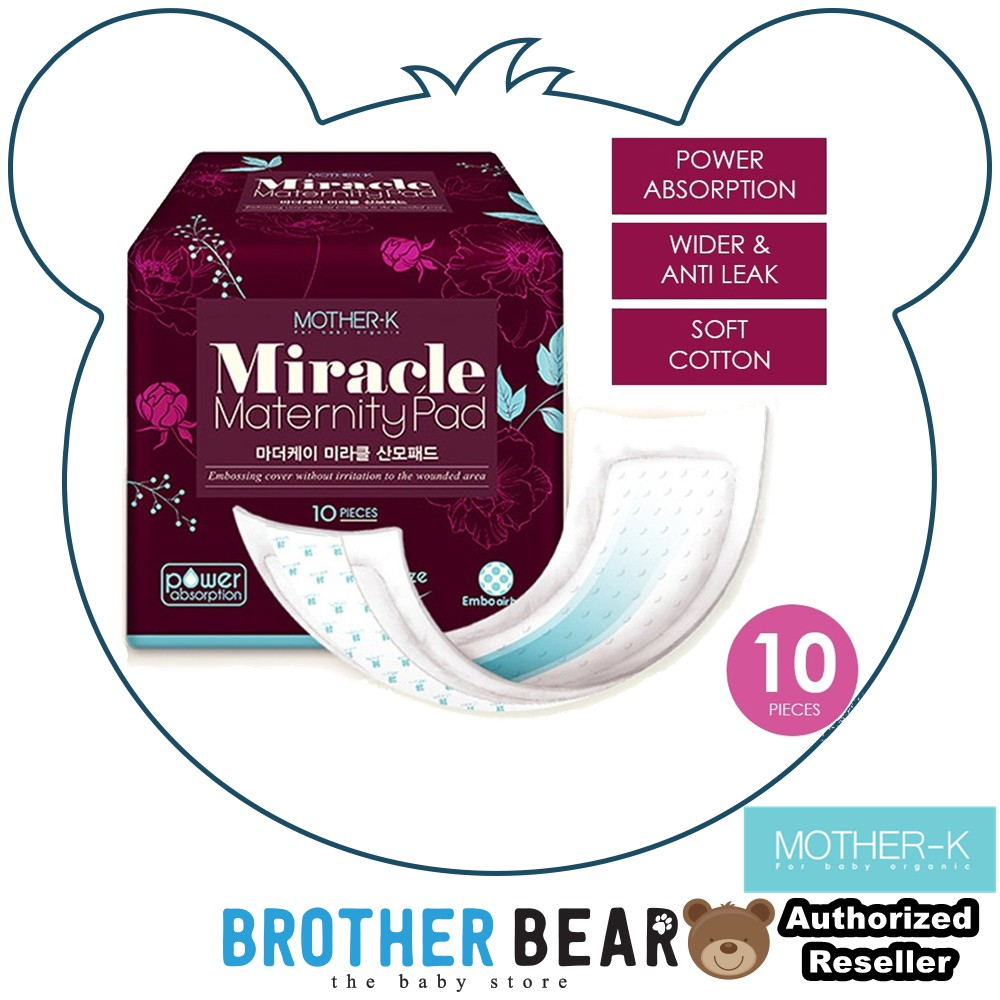 Mother-K Miracle Maternity Sanitary Pad from K-MOM 10's