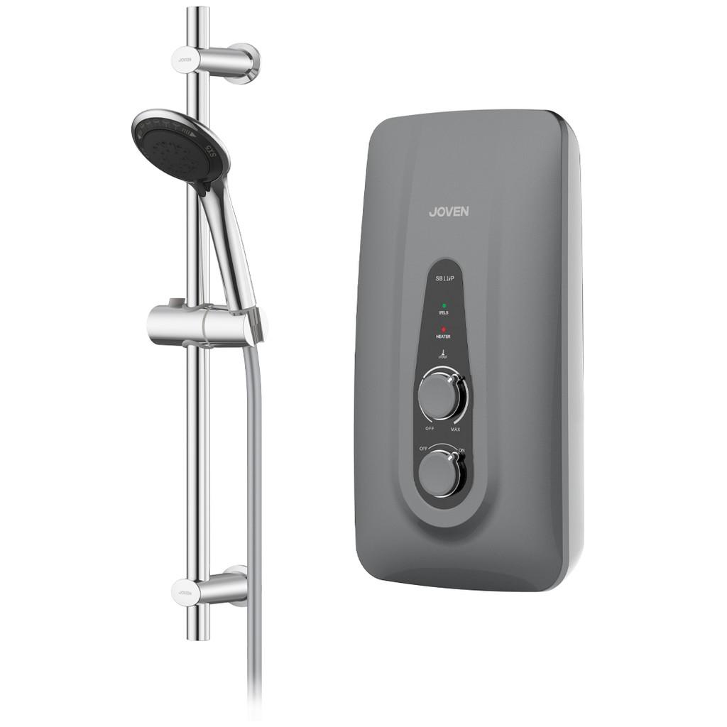 JOVEN SB11iP Inverter Pump / DC Pump Instant Hot Shower Water Heater 5 Spray Showerhead