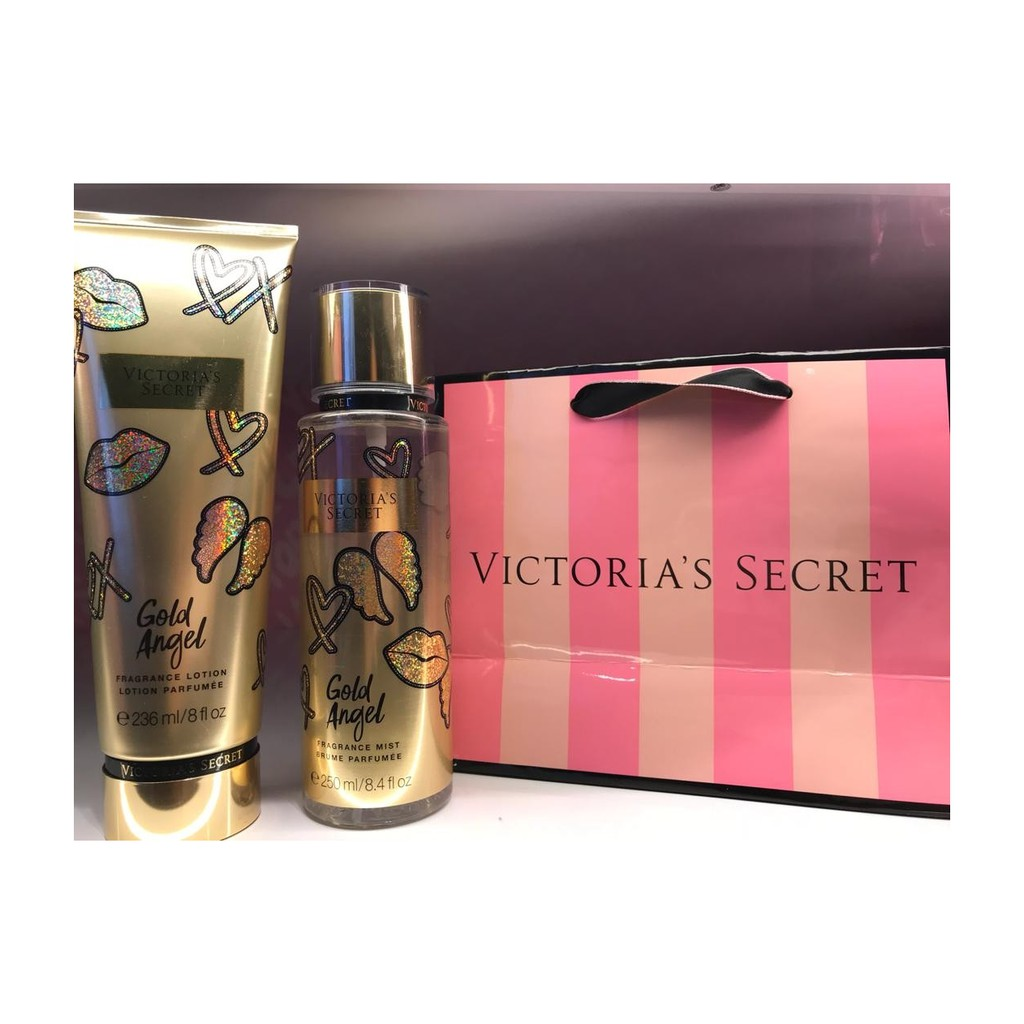3137d8d3fa Victoria Secret Glam Angel Body Mist 250ml + Lotion Glam Angel 236ml ...