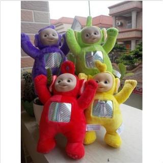 Teletubbies Family Pack de 4 figuras Tinky Winky Dipsy Laa Laa Po