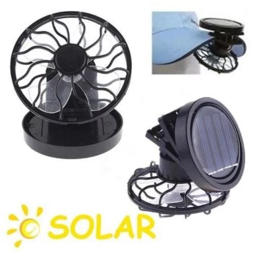 พัดลมพลังงานแสงอาทิตย์แบบใหม่พร้อมแผงเซลล์แสงอาทิตย์แบบแผงโซลาร์
