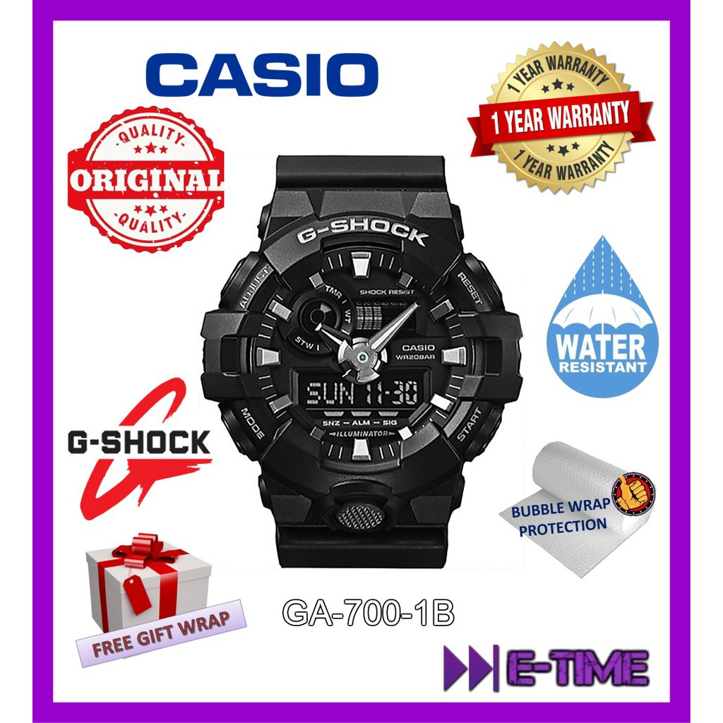 Casio G Shock Iron Man Original Ga110cs 4a Watch Limited Edition 1yr Jam Tangan Gd 400 3dr Warranty Shopee Malaysia