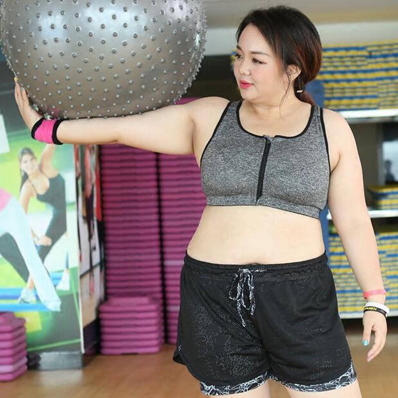 hot sales united kingdom 100% quality HOT!Women plus size Zipper bra Sport Running Gym Yoga Tank Tops Female Yoga  Vest
