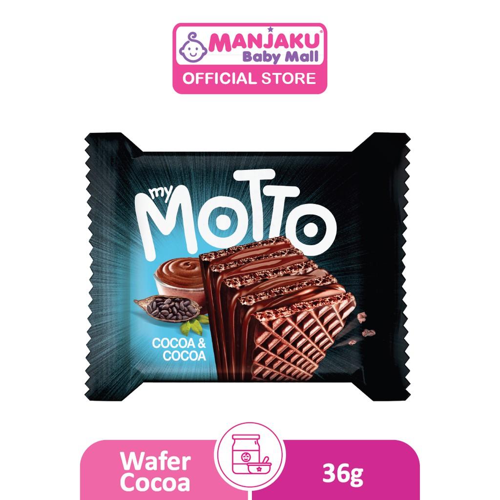 My Motto Cocoa (34g x 12 pcs) - Cocoa / Hazelnut / Tiramisu Flavor
