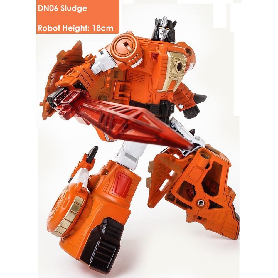 BMB Dinoking Dinobots Grimlock Robot Sludge Slag Swoop Snarl Box Set of 6 New