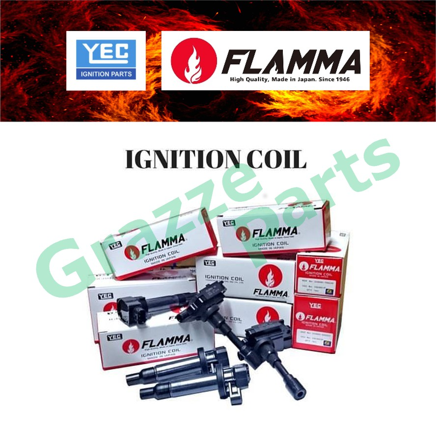 YEC Flamma Ignition Coil IGC614F for Honda Jazz Hybrid Civic Hybrid Insight