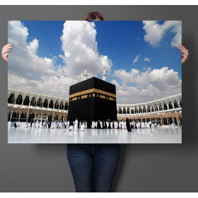 Kaabah Picture Wall 40 X 60 Cm Gambar Kaabah Poster Kaabah