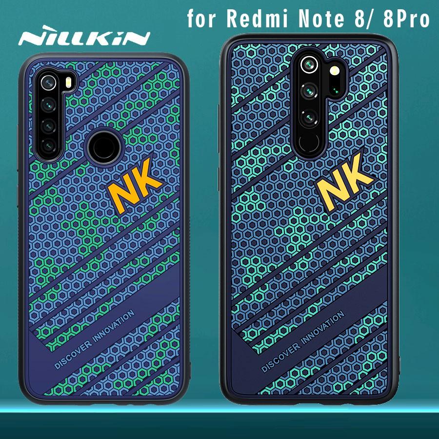 Nillkin Striker Case For Xiaomi Redmi Note 8 Pro 8 Case Pc Tpu Silicone Sports Style Back Cover For Redmi Note 8 Pro 8 Case Shopee Malaysia