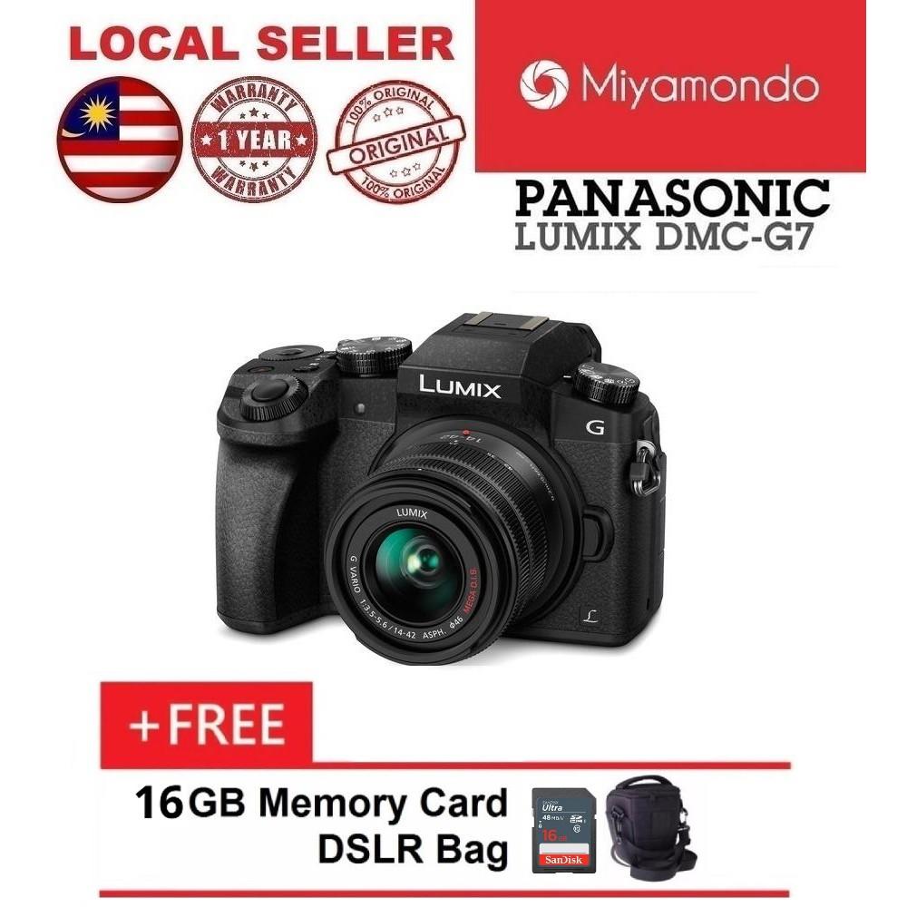 Panasonic Lumix G Dmc Gx85 Mirrorless Camera With 12 32mm Lens Kit Dc Gf10 Kamera Black Shopee Malaysia