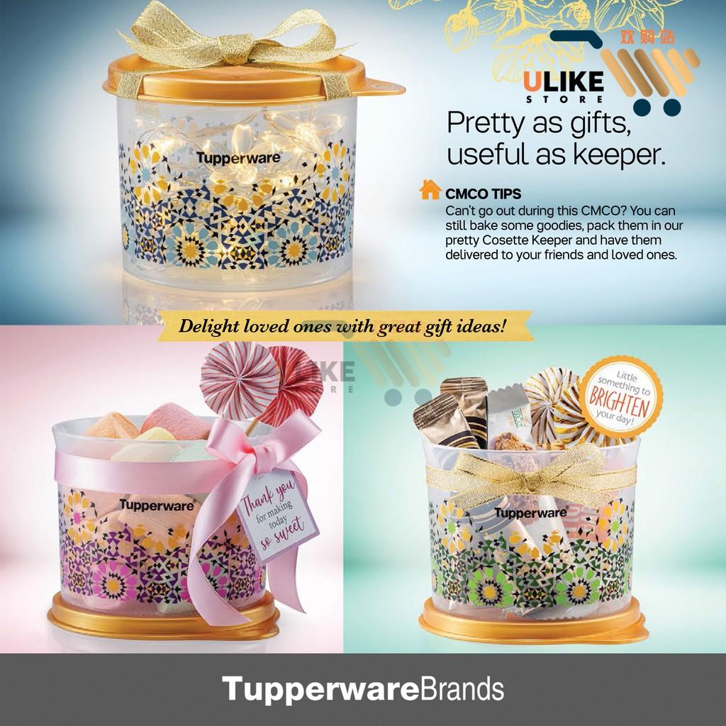 Tupperware Cosette Keeper Set / Keeper