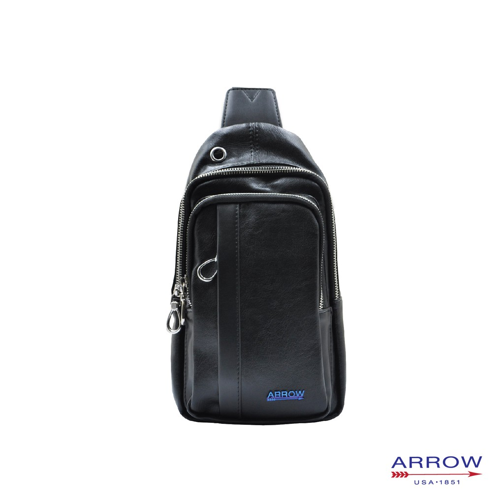 ARROW Casual Synthetic Leather Crossbody Men Chest Bag