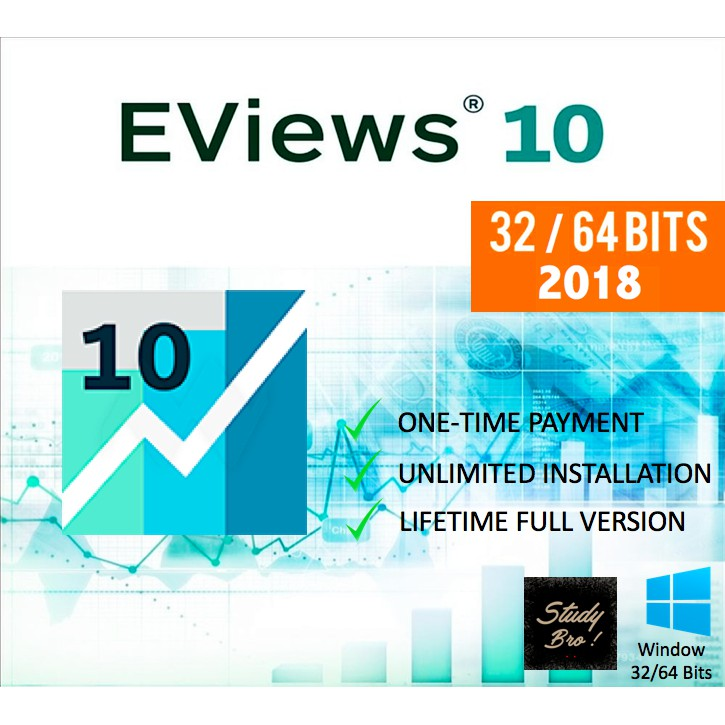 EViews 10 Enterprise Edition Full Version [32 Bit/64Bit] | Software