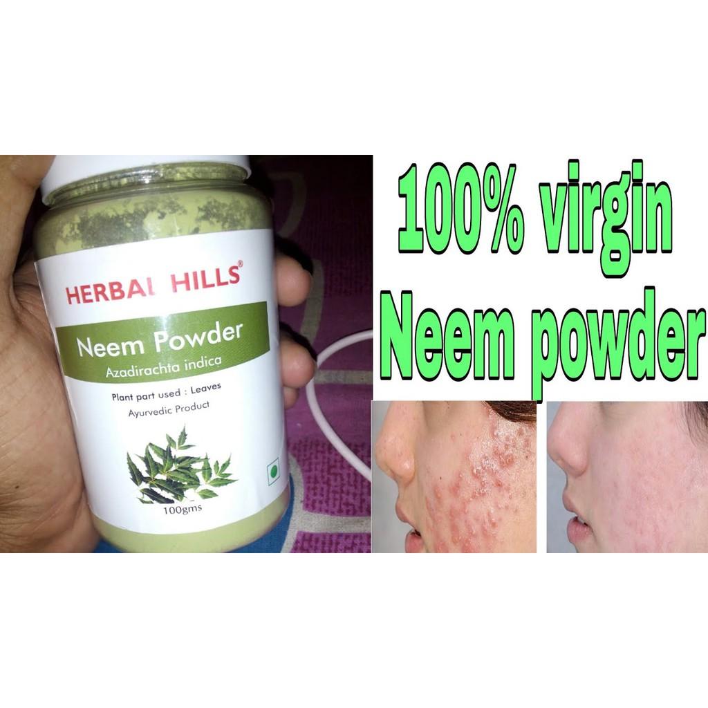 best offer low (pack of 2) price Herbal Hills Neem powder 100 gram exp  (11-2019)