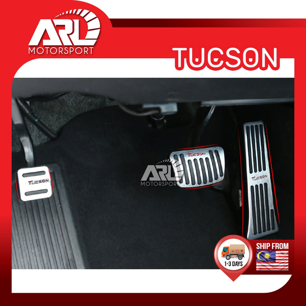 Hyundai Tucson ( 2015 - 2020 ) 3rd Gen  Auto Pedal Brake Sport Aluminum Steel Gas Car Auto Acccessories ARL Motorsport