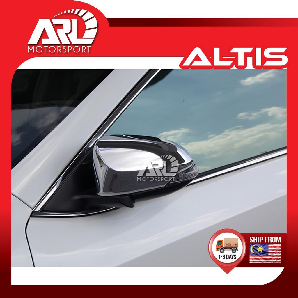 Toyota Altis (2013-2018) E170 Car Side Mirror Cover Chrome Car Auto Acccessories ARL Motorsport