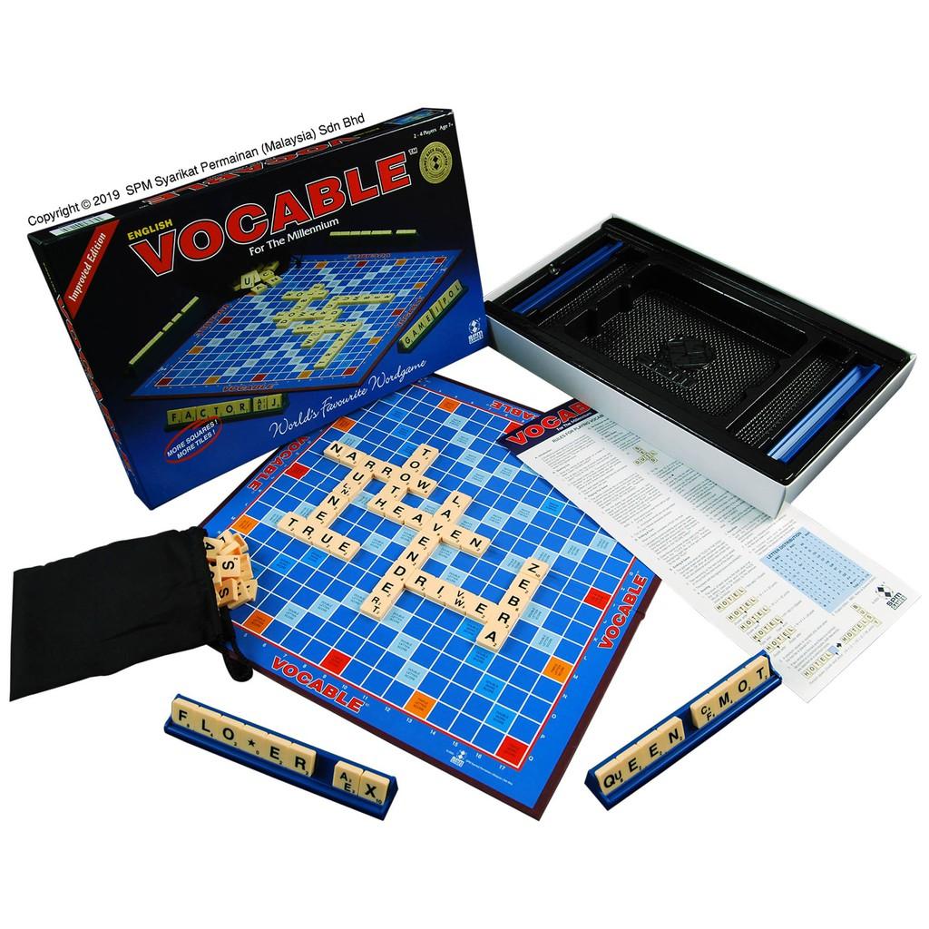Vocable English/Math & Science SPM166 Special Edition Boardgames SPM 166