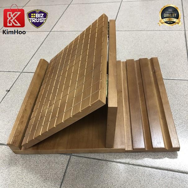 Solid Wood 4 Gears Adjustable Health Standing Board / Foot Standing Board HSB-60 拉筋板