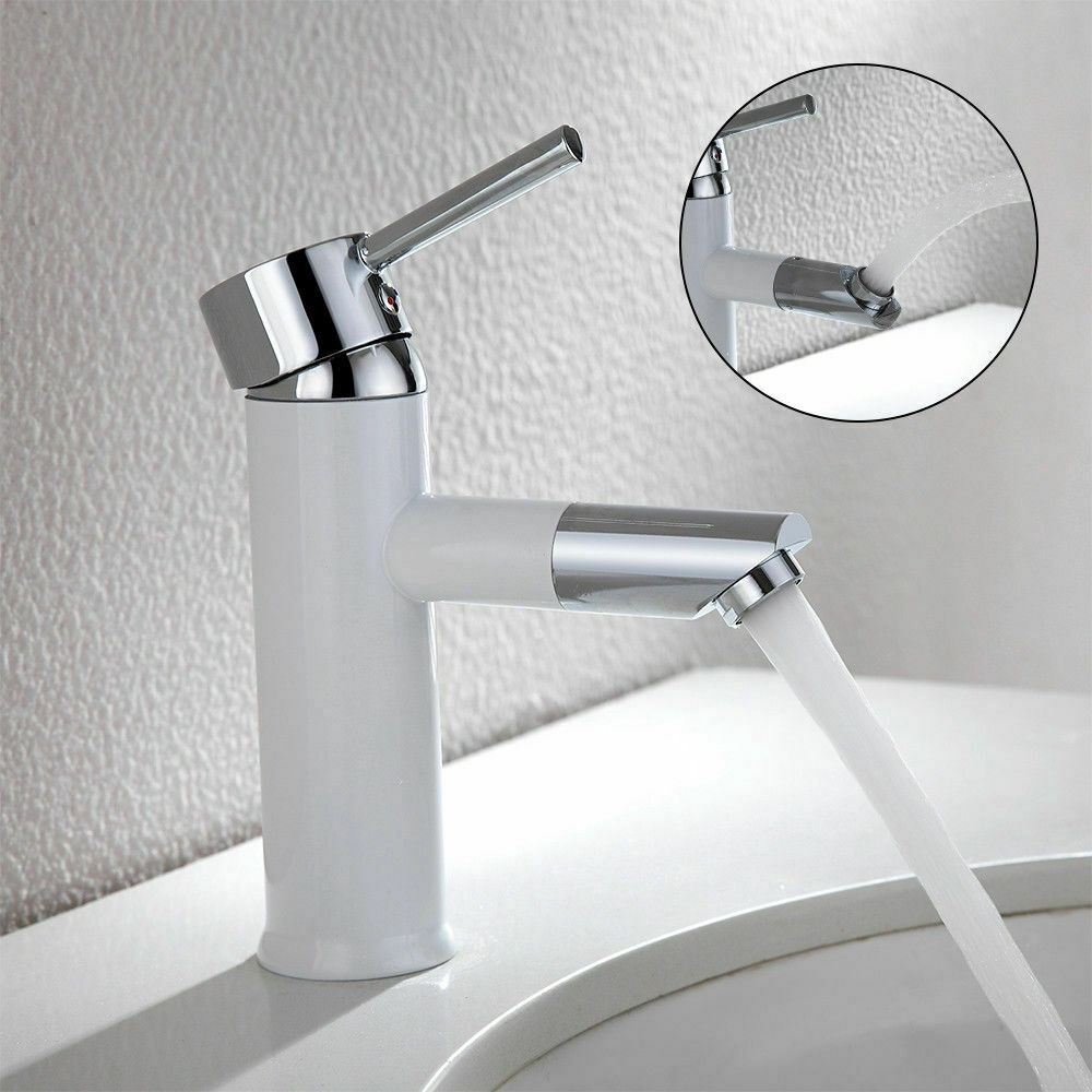 Bathroom Taps Deck Waterfall Tap Sets Basin Faucet Bath Filler Shower Mixer