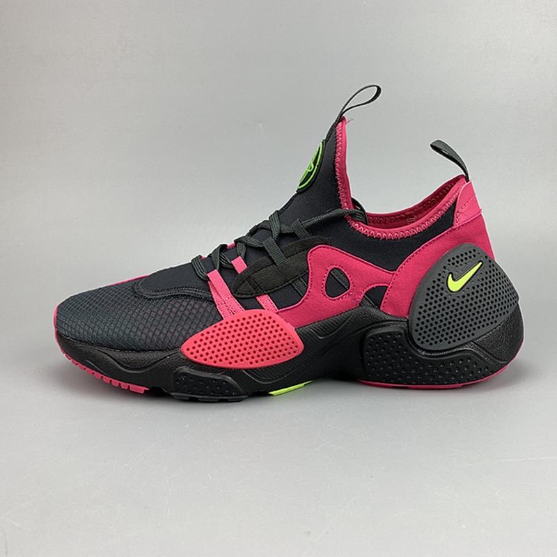 various colors reliable quality discount shop NIKE Huarache 7 E.D.G.E. TXT QS Black/Pink Net Sport Shoes