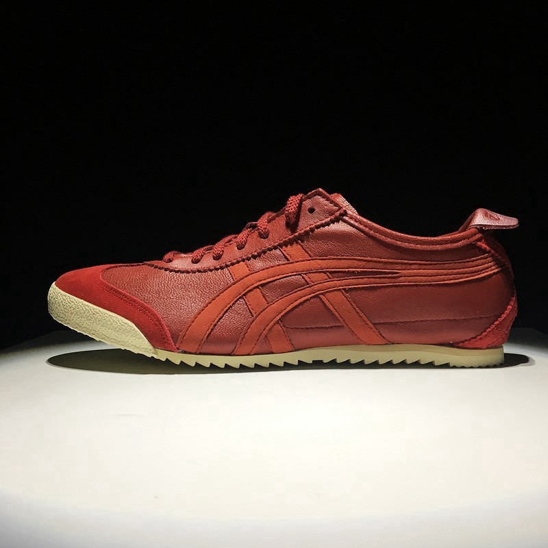new style 3636e e09e2 Ready Stock [Original]Asics Shoes Onitsuka Tiger MEXICO 66 DELUXE Red Men on