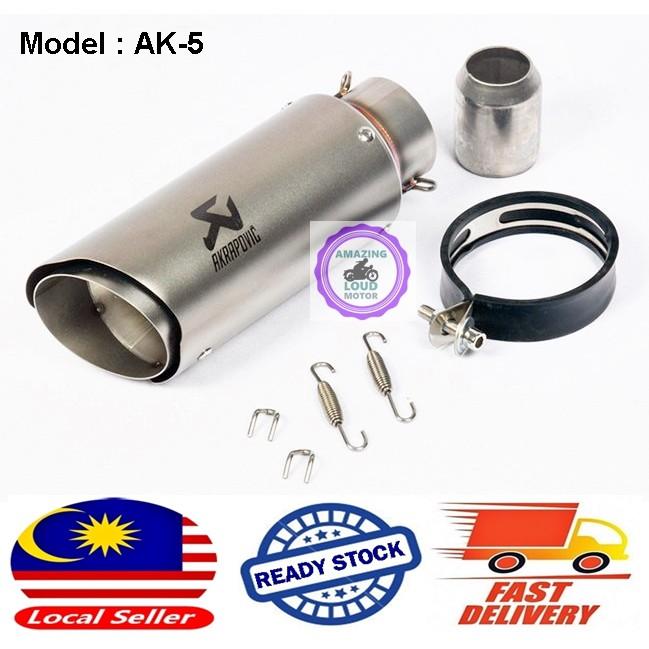Akrapovic Muffler Motorcycle Modified Round Muffler Exhaust Pipe