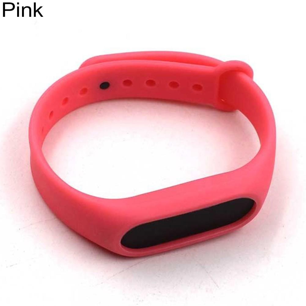 Xiaomi Mi Band 3 Replacement Silicon Wrist Strap WristBand Bracelet   Shopee Malaysia