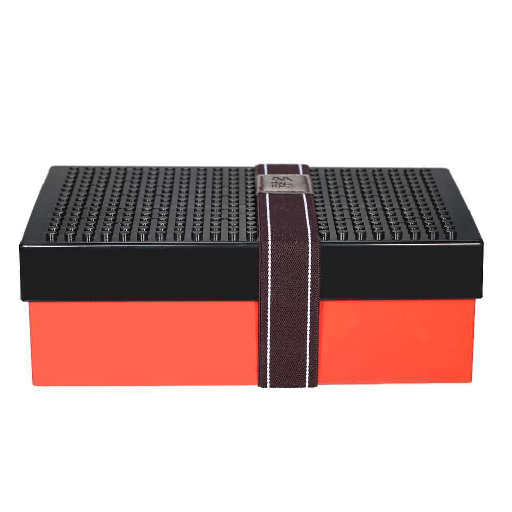 Funny Lunch Box Stylish Portable Lunchbox Good Quality Picnic Box DIY Building Block Food Containers with Foldable Fork