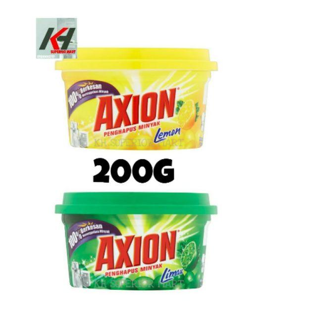 Axion Dishwashing Paste - Lemon / Lime (200g) READY STOCK