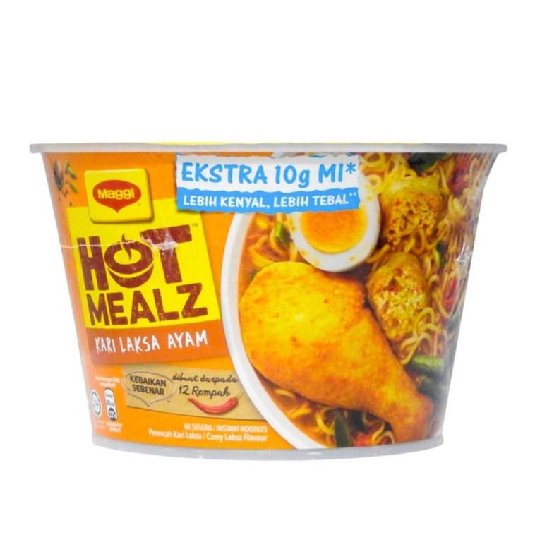 Maggi Hot Mealz Bowl Kari Laksa Ayam (97g)