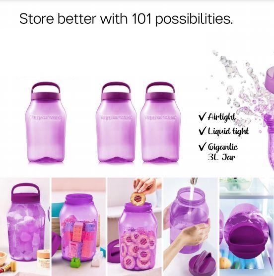 *Viral* 3L Jug Jar Botol Tupperware / Original Tupperware Universal Jar 3L