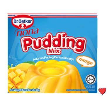 Dr.Oetker Nona Pudding Mix ~ Mango Flavour 90g   ( Free Fragile + Bubblewrap Packing )