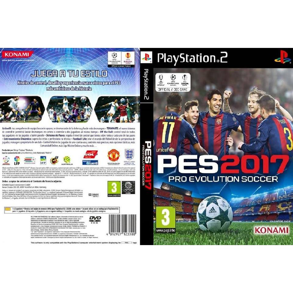 Ps2 Pro Evolution 2017 Shopee Malaysia Sony Ps4 Soccer Pes