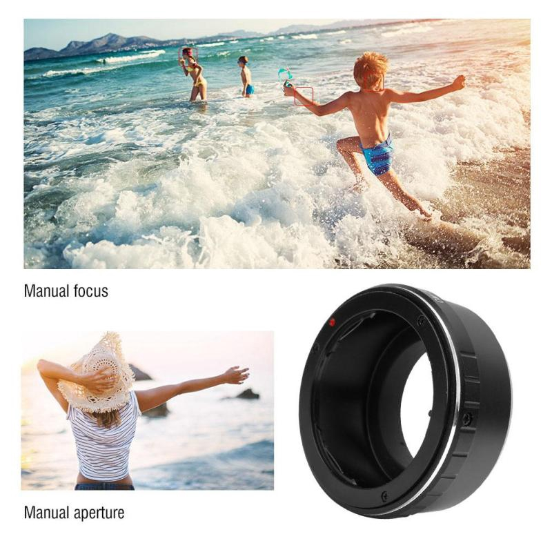 tominihouse Manual Focus Lens Adapter Ring for Olympus OM Mount Lens to Fit for Fuji FX Mirrorless Camera