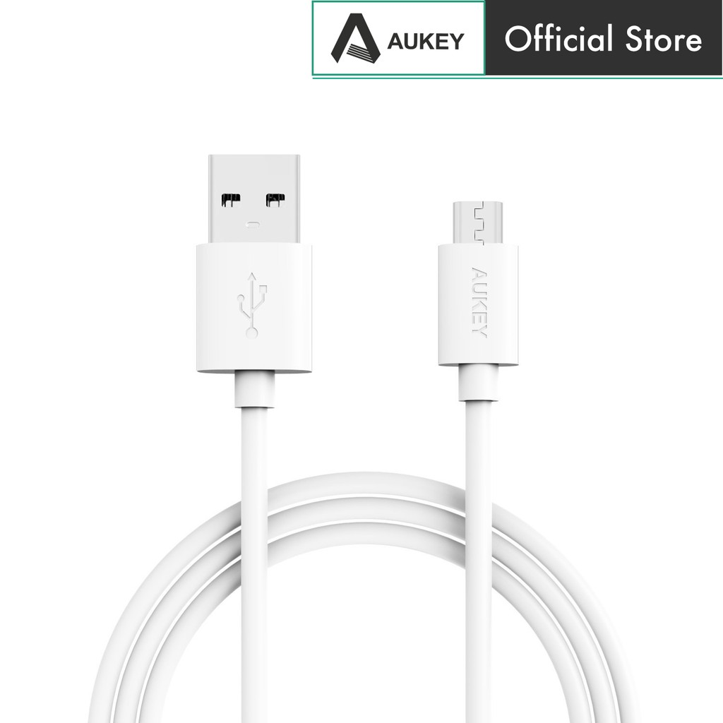 Aukey Cb D9 20awg Micro Usb 20 Quick Charge 30 Cable 2meter D5 5 Pack Original Kabel Data Shopee Malaysia