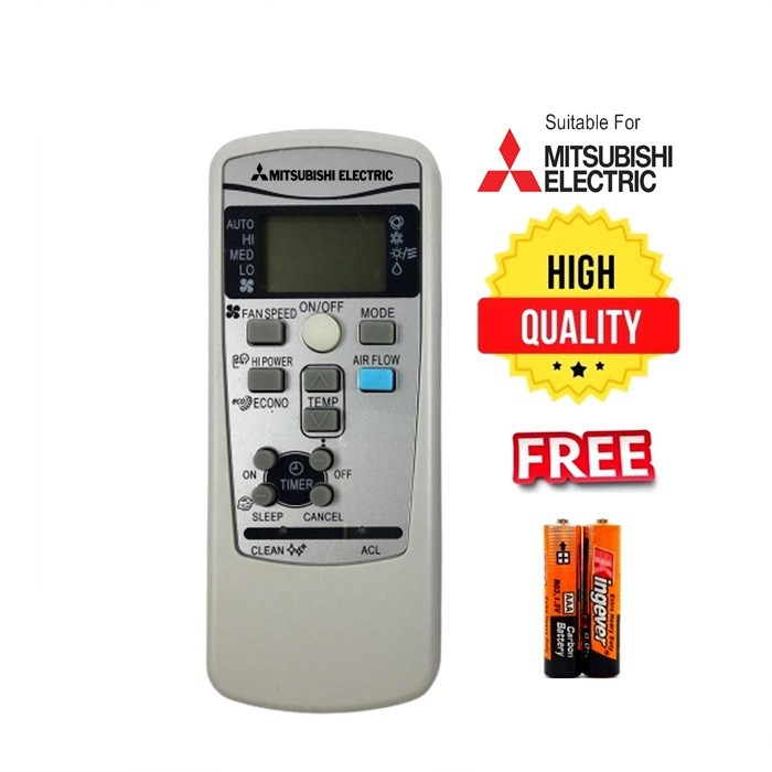 MITSUBISHI Heavy Industries Air Conditioner Remote Control For Replacement -RKX502A001