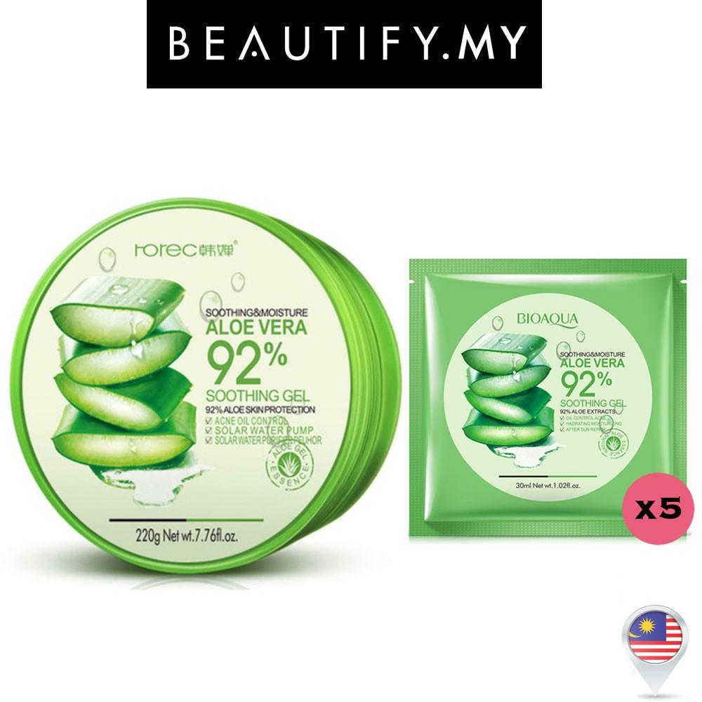 Topface Aloe Vera Cucumber 100 Soothing Gel Shopee Malaysia Bioaqua Shooting Original