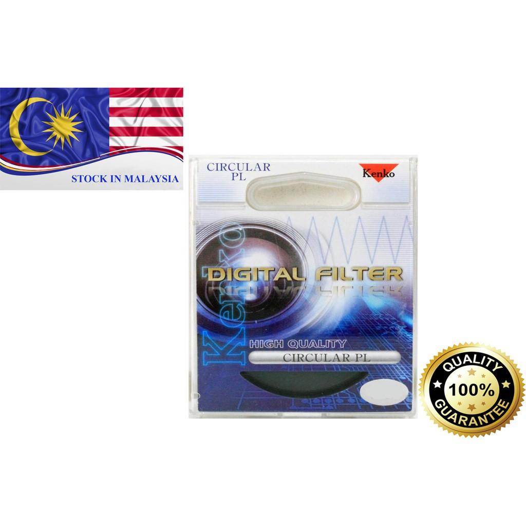 Genuine Kenko 52mm 58mm 67mm Circular PL Digital Filter CPL Polarizing (Ready Stock In Malaysia)