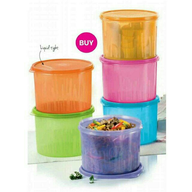 Tupperware Texture Canister 2.4L