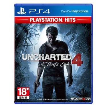 UNCHARTED 4: A THIEF'S END PLAYSTATION HITS (R-ALL) - PS4