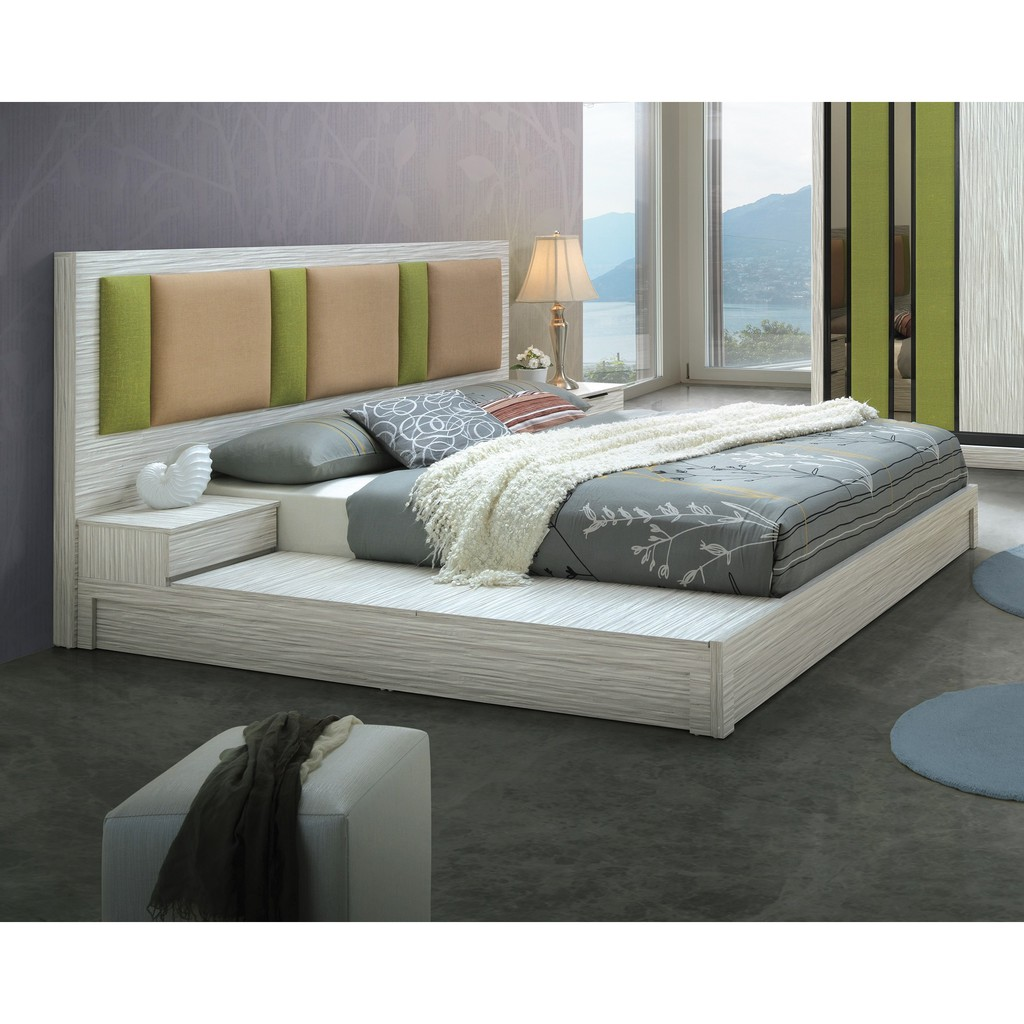 Free Delivery Installation Storage Bed Frame Queen Bed King Bed Modern Katil Mixbox Mi Home Cb Mi93 Bed Shopee Malaysia