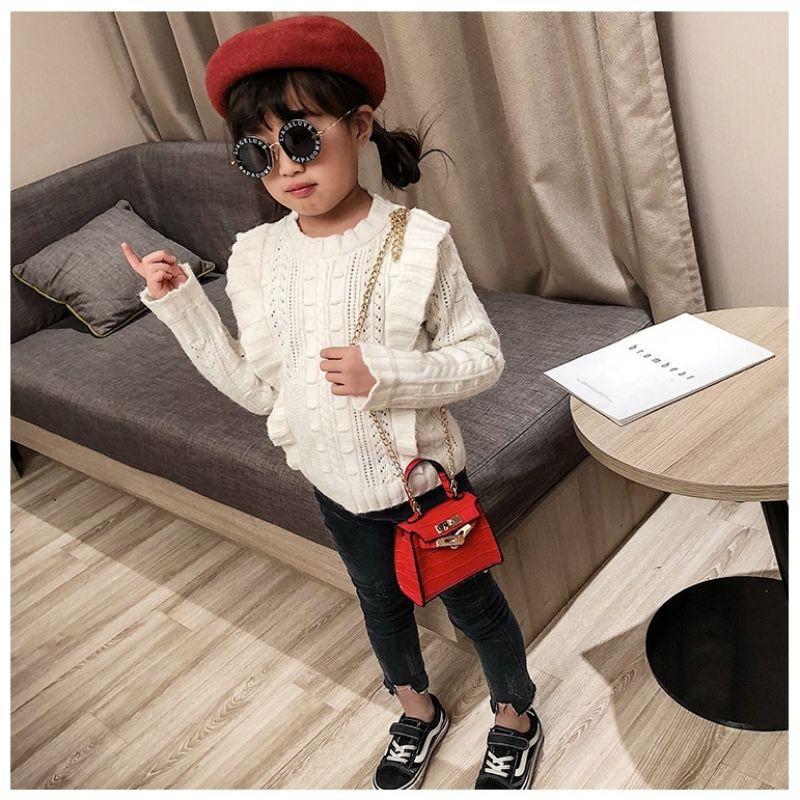 Kids Girl Retro Classic Cute Sling Shoulder Crossbody Bag Bag Tangan Kanak Kanak