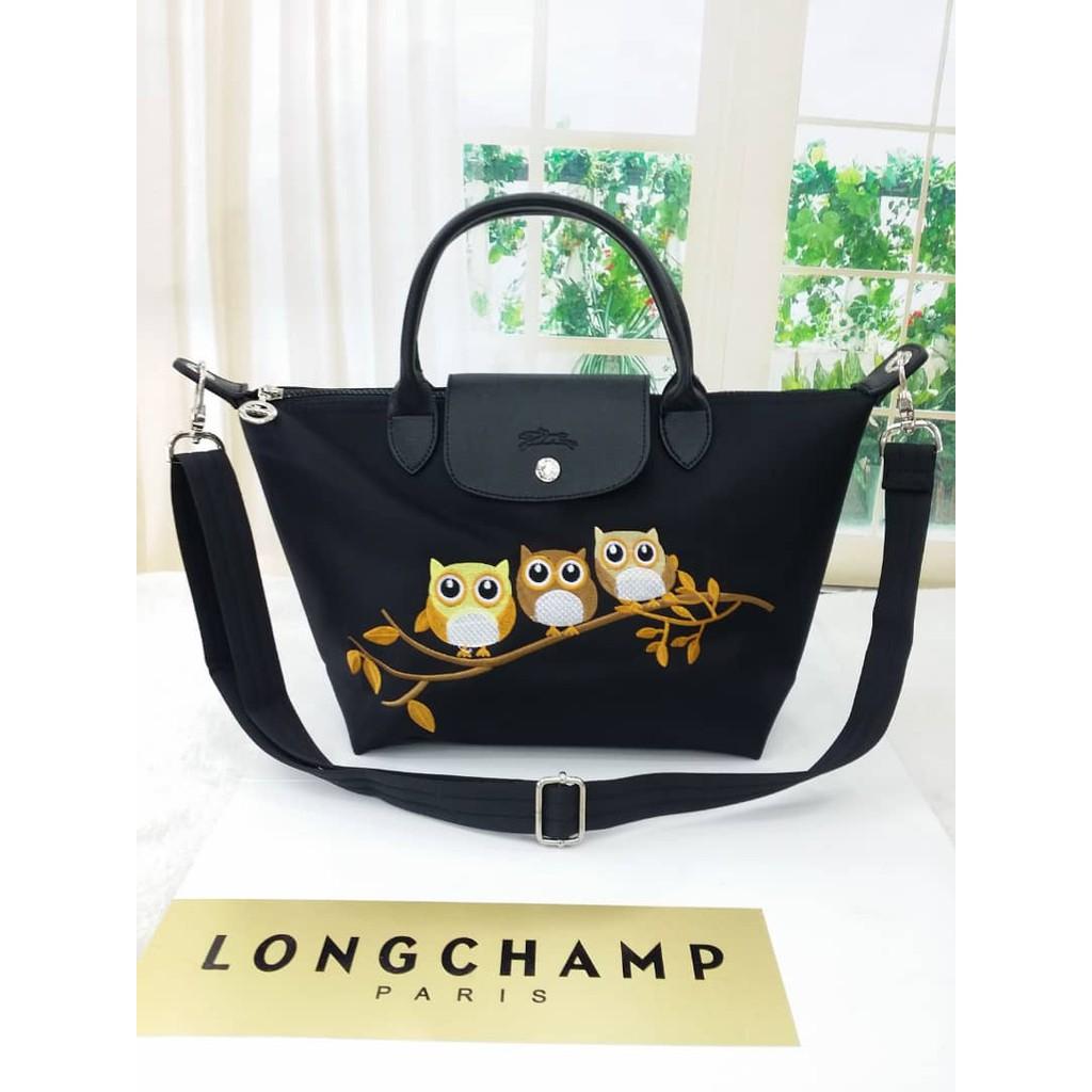 Longchamp Owl Handbag New Arrival